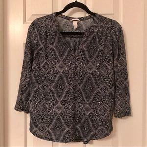 H&M comfy  blouse